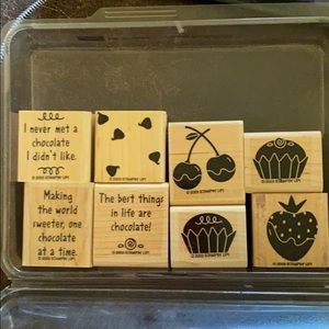 """2003 Stampin' Up! """"Oh So Sweet"""" 8 pc set"""
